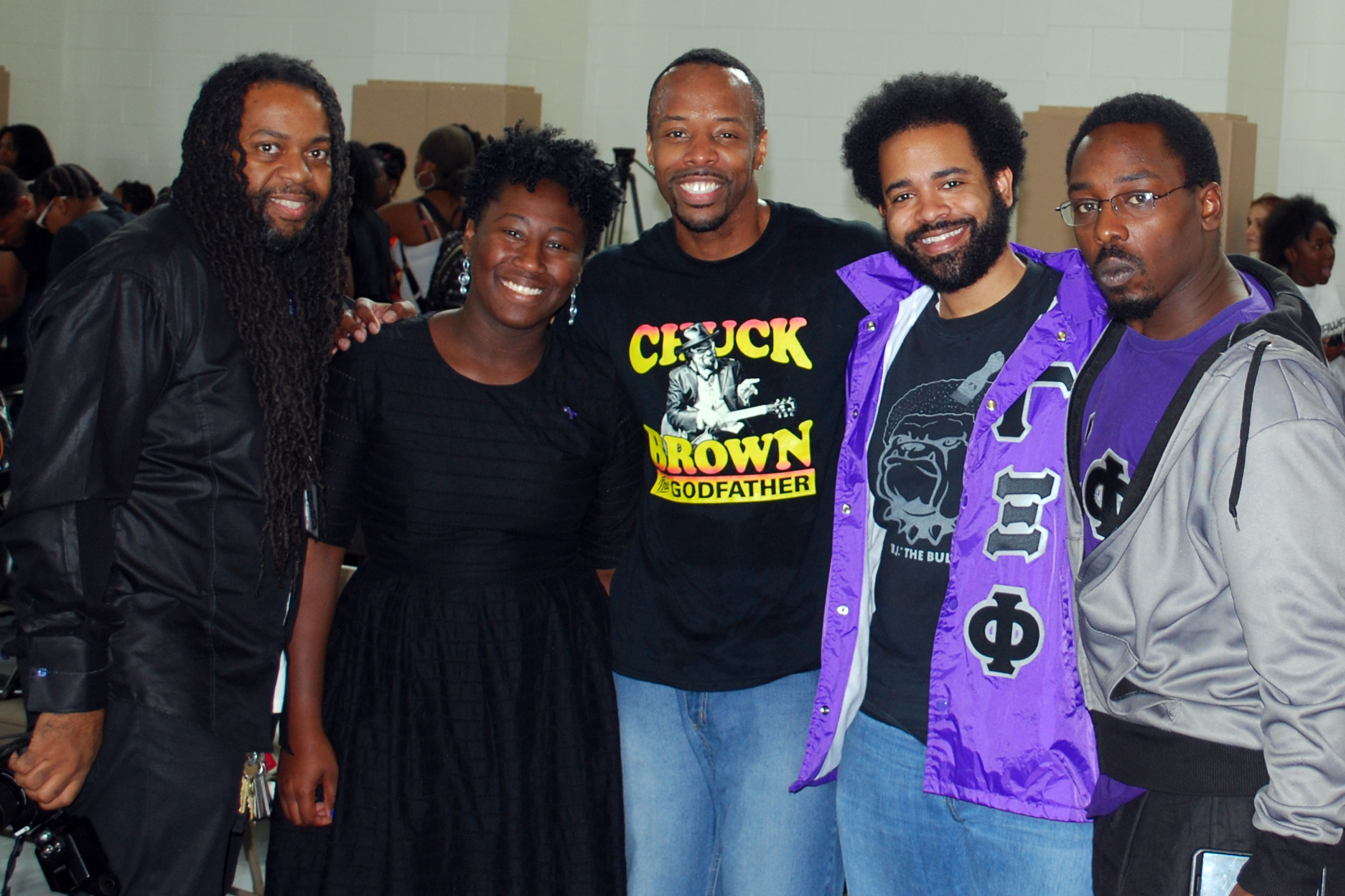 District of Columbia Chapter Supports Honorary Member and Step Afrika