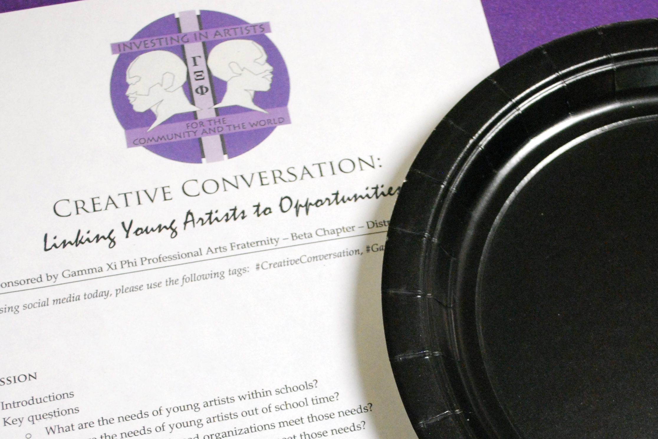 District of Columbia Chapter Hosts Creative Conversation