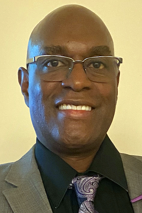 Portrait of Brother Larry Williams